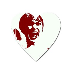 Psycho Heart Magnet by icarusismartdesigns