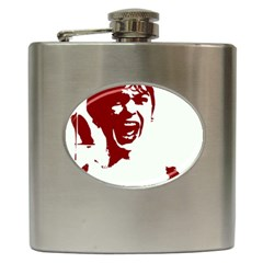 Psycho Hip Flask (6 Oz) by icarusismartdesigns