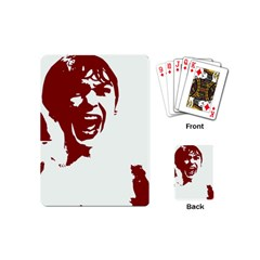 Psycho Playing Cards (mini)  by icarusismartdesigns