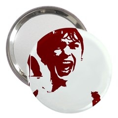 Psycho 3  Handbag Mirrors by icarusismartdesigns
