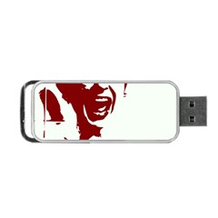 Psycho Portable Usb Flash (two Sides) by icarusismartdesigns