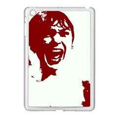 Psycho Apple Ipad Mini Case (white) by icarusismartdesigns