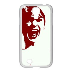 Psycho Samsung Galaxy S4 I9500/ I9505 Case (white) by icarusismartdesigns
