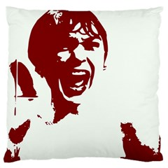 Psycho Large Flano Cushion Cases (one Side)
