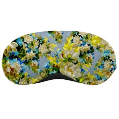 Vintage Floral Pattern Sleeping Masks by LovelyDesigns4U