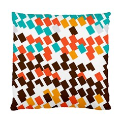Rectangles On A White Background Standard Cushion Case (two Sides) by LalyLauraFLM