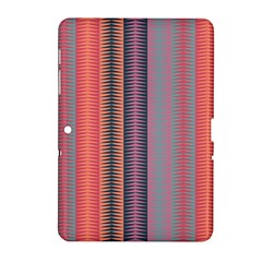 Triangles And Stripes Pattern Samsung Galaxy Tab 2 (10 1 ) P5100 Hardshell Case  by LalyLauraFLM
