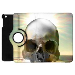Skull Sunset Apple Ipad Mini Flip 360 Case by icarusismartdesigns