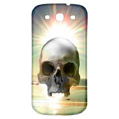 Skull Sunset Samsung Galaxy S3 S Iii Classic Hardshell Back Case by icarusismartdesigns