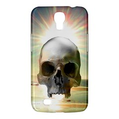 Skull Sunset Samsung Galaxy Mega 6 3  I9200 Hardshell Case by icarusismartdesigns