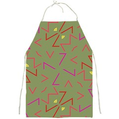 Angles Full Print Apron by LalyLauraFLM