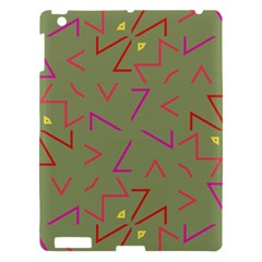 Angles Apple Ipad 3/4 Hardshell Case by LalyLauraFLM