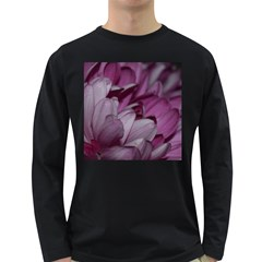 Purple! Long Sleeve Dark T-shirts by timelessartoncanvas