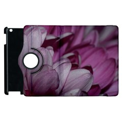 Purple! Apple Ipad 3/4 Flip 360 Case by timelessartoncanvas