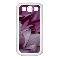 Purple! Samsung Galaxy S3 Back Case (white) by timelessartoncanvas