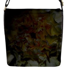 Yellow Flower Flap Messenger Bag (s) by timelessartoncanvas