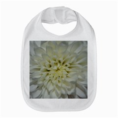 White Flowers Bib by timelessartoncanvas