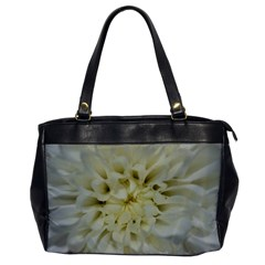 White Flowers Office Handbags by timelessartoncanvas