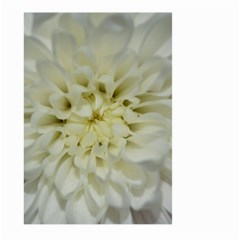 White Flowers Large Garden Flag (two Sides)