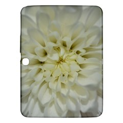 White Flowers Samsung Galaxy Tab 3 (10 1 ) P5200 Hardshell Case  by timelessartoncanvas