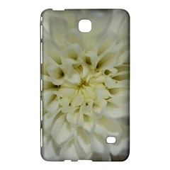 White Flowers Samsung Galaxy Tab 4 (7 ) Hardshell Case  by timelessartoncanvas