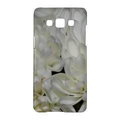 White Flowers 2 Samsung Galaxy A5 Hardshell Case