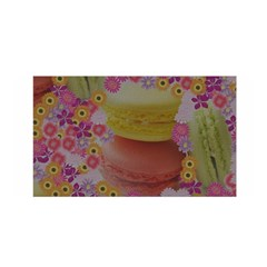 Macaroons And Floral Delights Satin Wrap by LovelyDesigns4U