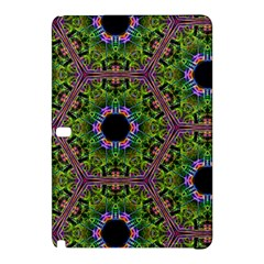 Repeated Geometric Circle Kaleidoscope Samsung Galaxy Tab Pro 12 2 Hardshell Case by canvasngiftshop