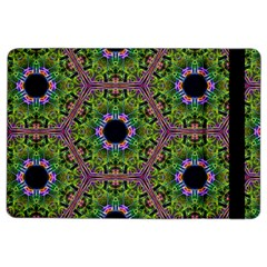 Repeated Geometric Circle Kaleidoscope Ipad Air 2 Flip by canvasngiftshop