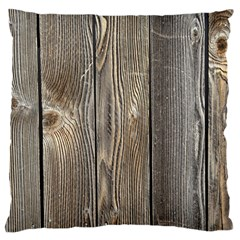 Wood Fence Large Cushion Cases (two Sides)  by trendistuff