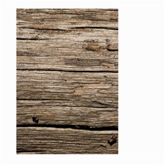 Weathered Wood Large Garden Flag (two Sides) by trendistuff