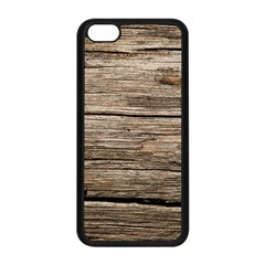 Weathered Wood Apple Iphone 5c Seamless Case (black) by trendistuff