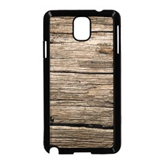Weathered Wood Samsung Galaxy Note 3 Neo Hardshell Case (black) by trendistuff