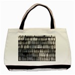 WEATHERED SHINGLE Basic Tote Bag (Two Sides)  Front