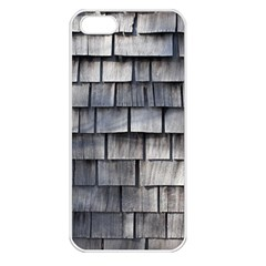 Weathered Shingle Apple Iphone 5 Seamless Case (white) by trendistuff