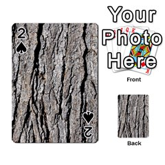 Tree Bark Playing Cards 54 Designs