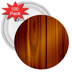 Shiny Striated Panel 3  Buttons (100 Pack)  by trendistuff