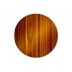 Shiny Striated Panel Magnet 3  (round) by trendistuff