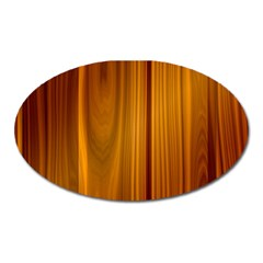 Shiny Striated Panel Oval Magnet by trendistuff