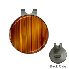 Shiny Striated Panel Hat Clips With Golf Markers by trendistuff