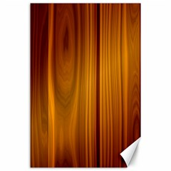 Shiny Striated Panel Canvas 24  X 36  by trendistuff
