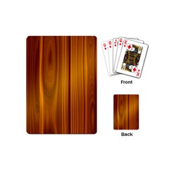 Shiny Striated Panel Playing Cards (mini)  by trendistuff