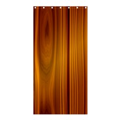 Shiny Striated Panel Shower Curtain 36  X 72  (stall)  by trendistuff