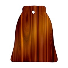 Shiny Striated Panel Bell Ornament (2 Sides) by trendistuff