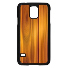 Shiny Striated Panel Samsung Galaxy S5 Case (black) by trendistuff