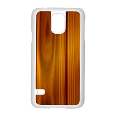 Shiny Striated Panel Samsung Galaxy S5 Case (white) by trendistuff