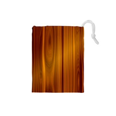 Shiny Striated Panel Drawstring Pouches (small)  by trendistuff