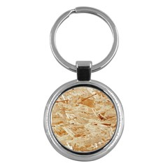 Osb Plywood Key Chains (round)  by trendistuff