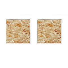 Osb Plywood Cufflinks (square) by trendistuff