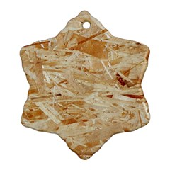 Osb Plywood Snowflake Ornament (2 Side) by trendistuff